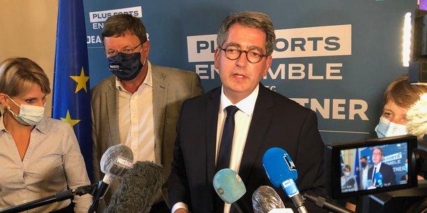 Refaire le match du passé et du redécoupage administratif n'a plus de sens, a estimé Jean Rottner, réélu le 27 juin à la présidence de la région Grand-Est.