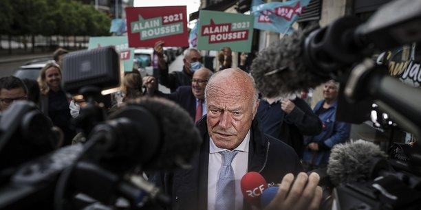 Alain Rousset, victorieux, dimanche 27 juin 2021.
