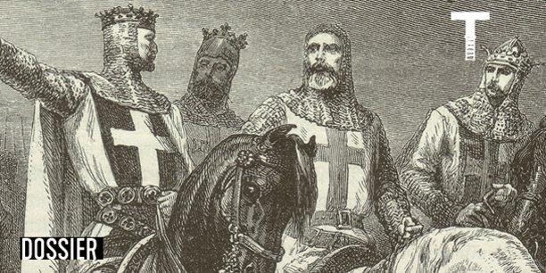 AU XIe siècle, l'engagement religieux glisse vers l'engagement militaire. Partout on défend son territoire et on attaque en vertu de l'idée selon laquelle il faut combattre pour ses valeurs. C'est le principe de la croisade.