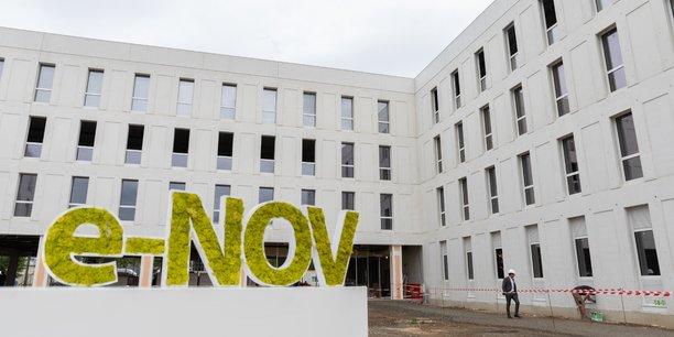 Le nouveau bâtiment accueillera près d'un tiers des effectifs en France de Vitesco Technologies.