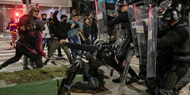 Au Brésil, plusieurs manifestations ont eu lieu début juillet contre le président Jair Bolsonaro.