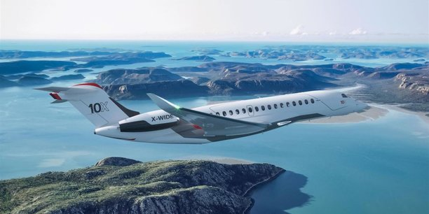 Basé dans les Landes, Potez Aéronautique réalisera les éléments mobiles de la voilure du Falcon 10X de Dassault Aviation dont la mise en service est prévue en 2025.