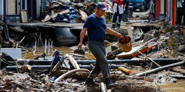 Des inondations record ont causé la mort d'au moins 187 personnes en Europe, dont 157 en Allemagne, selon un dernier bilan qui ne cesse de s'alourdir de jour en jour.