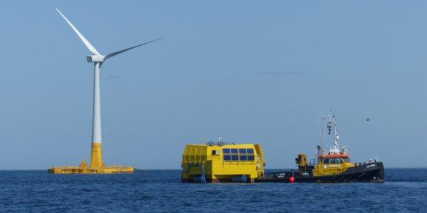 L'électrolyseur choisit par Lhyfe en collaboration avec les chantiers de l'Atlantique et Geps techno, sera installé sur le site site d'essai en mer SEM-REV en 2022. Créé en 2007 par l'Ecole centrale de Nantes, il est connecté au réseau depuis 2012 et relié à l'éolienne flottante Floatgen, connectée depuis 2018.