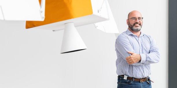 Olivier Guillaumon, directeur général de la société Map Space Coatings.