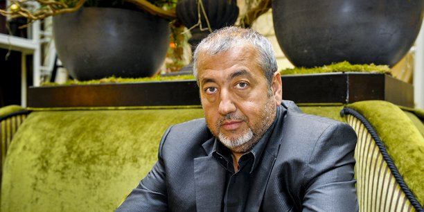Michel Ohayon dans ses murs, à l' l'Intercontinental Bordeaux-Le Grand Hôtel.