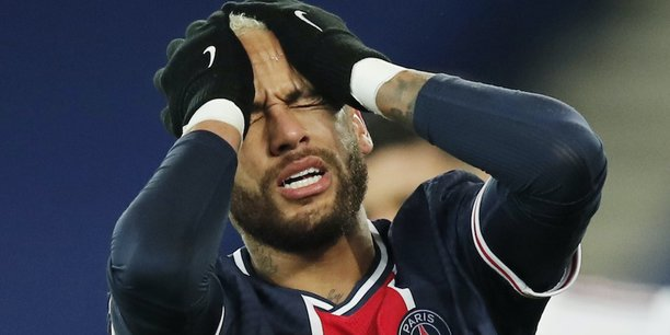 Neymar Jr, l'attaquant star du PSG.