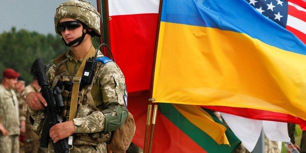 Exercices militaires conjoints de l'ukraine avec usa, pologne et lituanie[reuters.com]