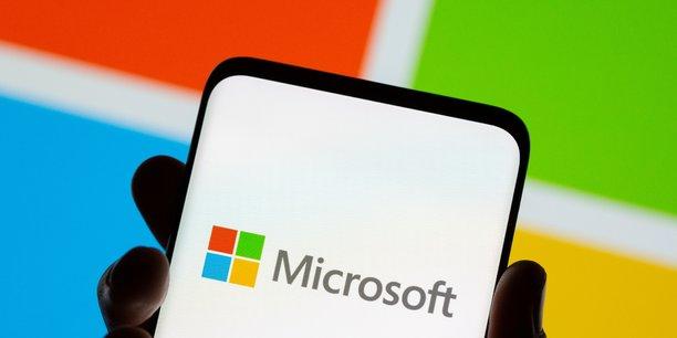 Microsoft bat les attentes, porte par ses activites de cloud[reuters.com]