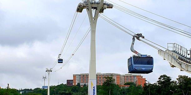 Le téléphérique de Toulouse pourra transporter 8.000 personnes par jour.