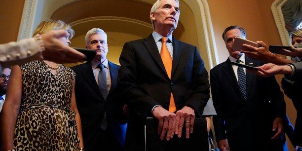 Etats-unis: accord bipartite au senat sur des points cle du plan d'infrastructures[reuters.com]