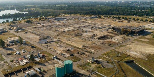 Le démantèlement des installations de surface touchera bientôt à sa fin.