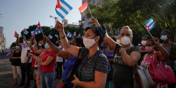 L'ue appelle cuba a liberer les manifestants detenus arbitrairement[reuters.com]