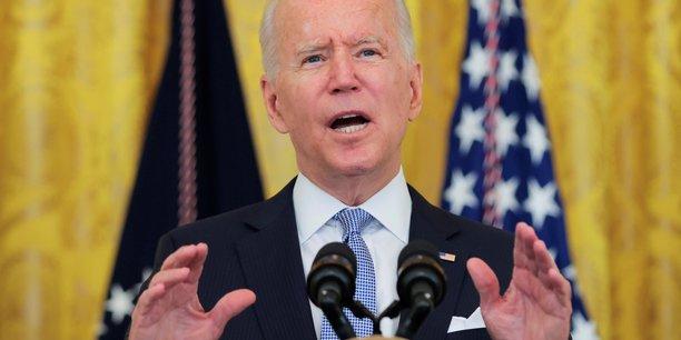 L'Amérique est de nouveau en marche, et les nouveaux chiffres du PIB ramènent notre économie aux niveaux d'avant la pandémie, a réagi, sur Twitter, le président américain Joe Biden