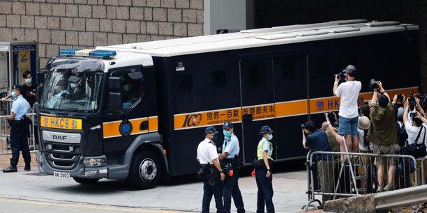 Hong kong: neuf ans de prison en vertu de la loi sur la securite nationale[reuters.com]