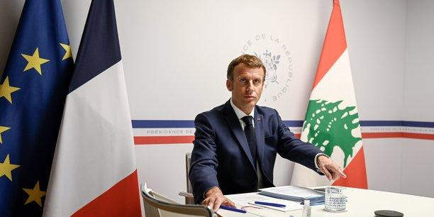 Macron denonce les faillites du systeme politique libanais, un an apres l'explosion de beyrouth[reuters.com]
