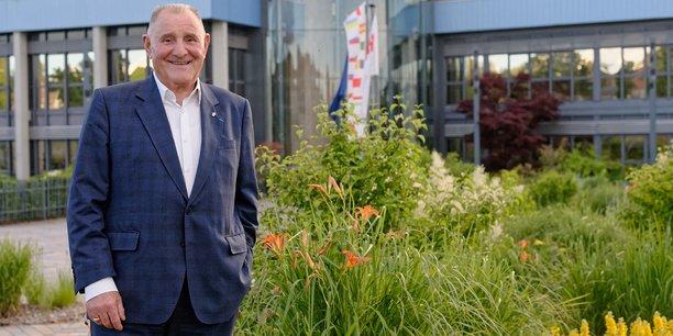 A 82 ans, Claude Faure, co-fondateur de FM Logistic, est resté président d'honneur de cette entreprise de 27.000 salariés.