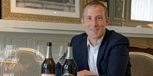 Mathieu Roland-Billecart, président du directoire de Billecart-Salmon à Mareuil-sur-Aÿ (Marne).