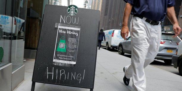Au total, 943.000 emplois ont été créés en juillet aux Etats-Unis, a annoncé vendredi le département du Travail.