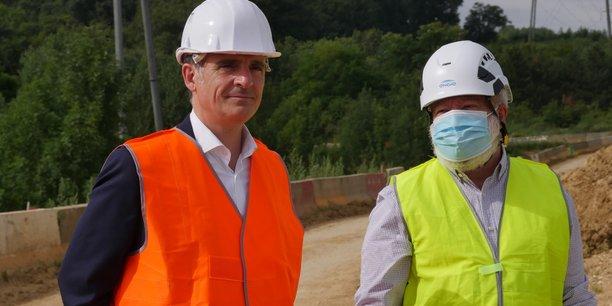 Le maire de Grenoble Éric Piolle dans l'Essonne le 3 août 2021.