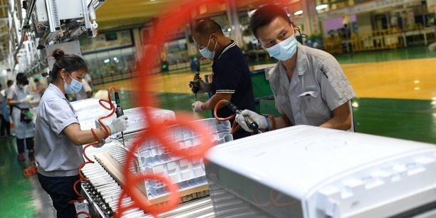 La recrudescence de cas de contamination par le variant Delta pourrait peser sur l'activité des entreprises en Chine.