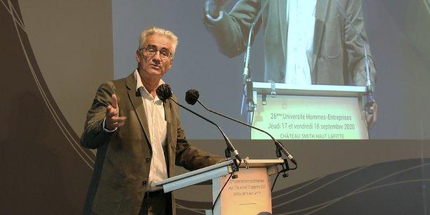 En 2020, le philosophe André Comte-Sponville s'était exprimé sur les notions de liberté et de responsabilité lors de la 26e édition de l'Université Hommes-Entreprises.