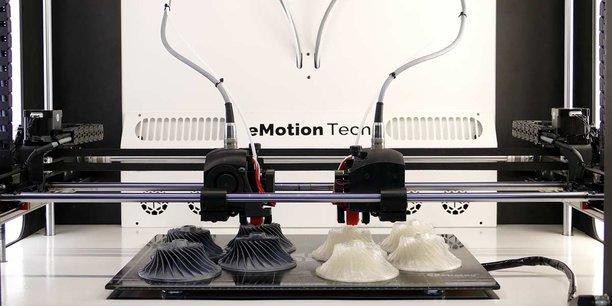 En deux ans, eMotion Tech est parvenu à séduire de multiples acteurs industriels de renom avec ses imprimantes 3D.