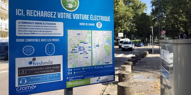 A Strasbourg, l'opérateur de réseaux de bornes de recharge s'est associé avec Engie pour investir 3 millions d'euros et équiper 180 bornes en un peu plus de douze mois.