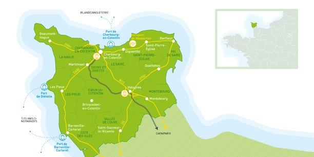 Plus de 5.000 offres d'emplois sont à pourvoir dans cette péninsule surnommée  la presqu'île de Normandie.