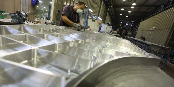 Figeac Aéro a vu son chiffre d'affaires chuter de de 441 à 205 millions d'euros en un an.