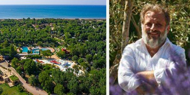Jean-Guy Amat est le P-dg du camping Yelloh! Village Le Sérignan-Plage, dans l'Aude, et le président du Comité exécutif national des chaînes et des groupes de campings.