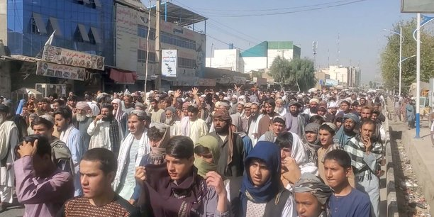 Afghanistan: manifestations a kandahar contre des expulsions ordonnees par les taliban[reuters.com]