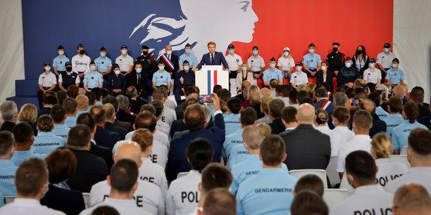 France: macron lance une loi de programmation pour les securites interieures[reuters.com]