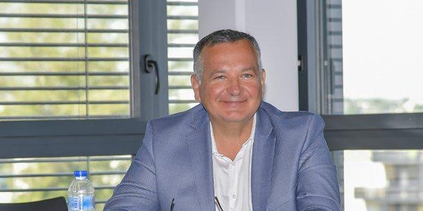 Thierry Leblanc, le président de la FFB de Gironde