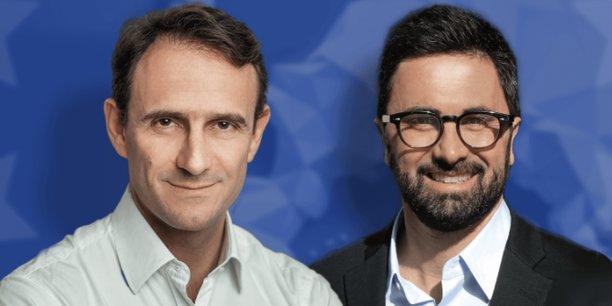 Olivier Sichel et Arno Pons.