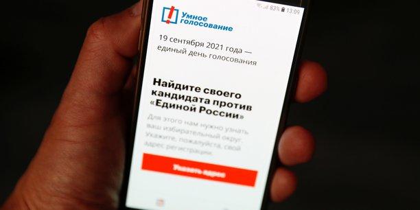 Russie: google et apple retirent l'application de navalny de leurs magasins en ligne[reuters.com]