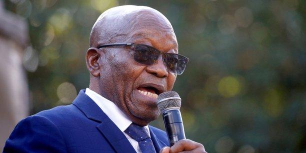 Afrique du sud: la cour constitutionnelle confirme la peine de prison de zuma[reuters.com]