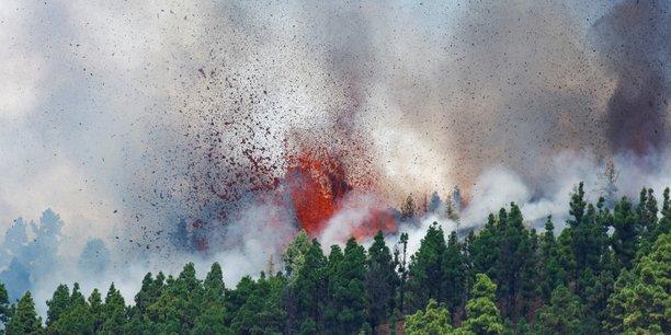 Un volcan entre en eruption a la palma aux canaries[reuters.com]