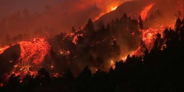 Espagne: des coulees de lave a la palma apres l'eruption d'un volcan[reuters.com]