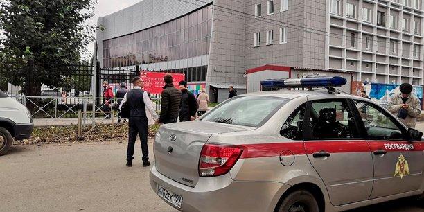 Une fusillade fait trois morts dans une universite en russie[reuters.com]