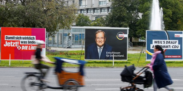 L'ecart entre spd et cdu se resserre a l'approche des elections[reuters.com]