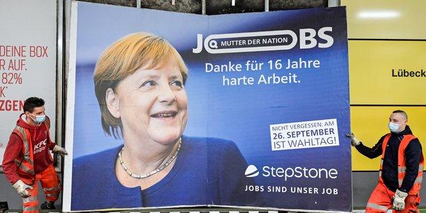 Les allemands appeles aux urnes pour tourner la page merkel[reuters.com]