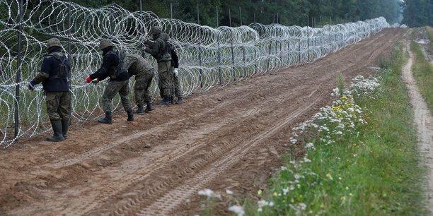 L'ue demande a la pologne d'autoriser frontex a la frontiere bielorusse[reuters.com]