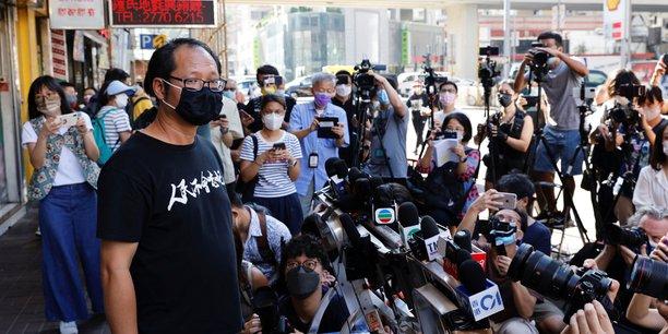 Hong kong: vise par une enquete, un groupe pro-democratie se dissout[reuters.com]