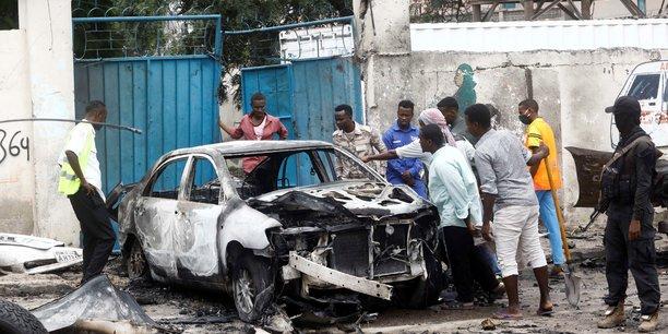 Somalie: un attentat a la voiture piegee fait 8 morts a mogadiscio[reuters.com]