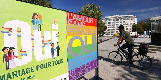 Les suisses se sont prononces en faveur du mariage pour tous[reuters.com]
