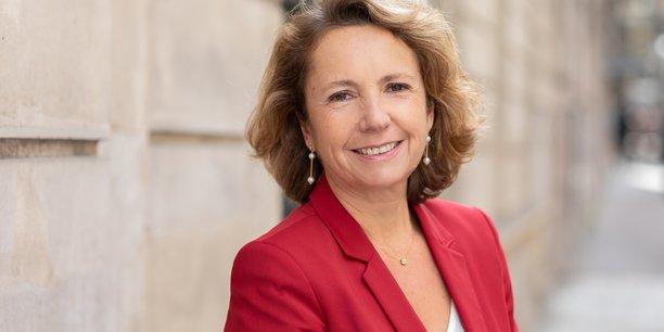 Marie-Ange Debon est présidente du directoire de Keolis et présidente de l'Union des transports publics et ferroviaires (UTP).