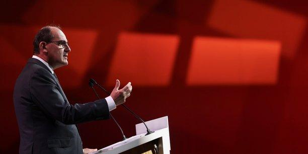 Jean Castex, le 28 septembre 2021, en ouverture du Congrès de l'Union sociale pour l'habitat à Bordeaux.
