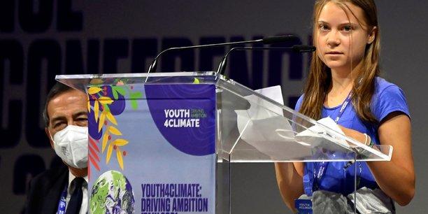 Climat: greta thunberg guere optimiste avant le sommmet des jeunes a milan[reuters.com]