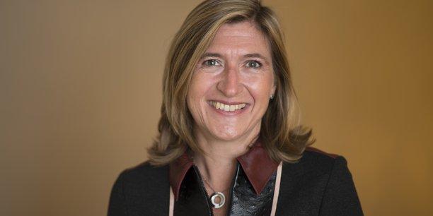 Alice Holzman, directrice générale de Ma French Bank, compte largement dépasser cette année son objectif de 400.000 clients.